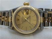 Ladies Rolex Oyster Perpetual DateJust 69173 18K Stainless Jubilee